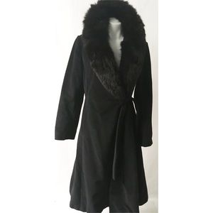 Black Vintage Coat Size Medium
